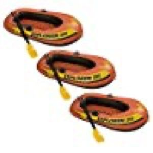 INTEX Explorer 200 Inflatable Two Person Rafts